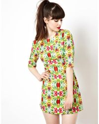 Sam Ubhi - Sister Jane Psychedelic Jungle Print Dress - Lyst
