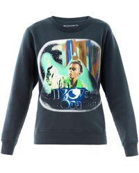 Balenciaga Join The Weird Trip Printed Sphinx Sweatshirt - Lyst