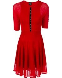 McQ by Alexander McQueen Pleated Dress - Lyst