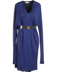 Vionnet Short Dresses - Lyst