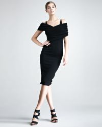 Donna Karan New York Stretchcashmere Dress - Lyst
