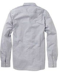 French Connection Washed Cotton Shirt - Lyst