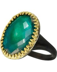 Larkspur & Hawk - Green Annabel Ring - Lyst