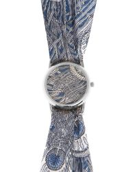 Liberty - Large Hera Liberty Print Knot Watch - Lyst