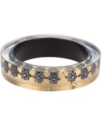 Nicholas King - Oxi Flower Bangle - Lyst