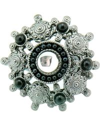 Ziba - Dark Victorian Filigree Ring - Lyst