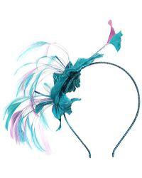 Alexon - Blue Feather Fascinator - Lyst