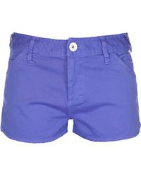 Bench - Womens Good Legs Denim Shorts - Lyst