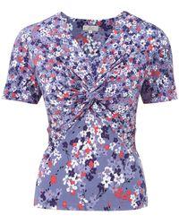 Cc Petite Lavender Disty Floral Jersey - Lyst