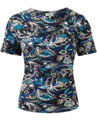 Cc Multicoloured Paisley Print Top - Lyst