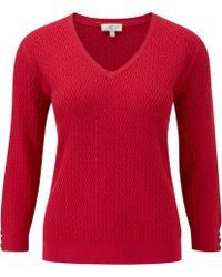 Cc 34 Sleeve Chain Link Cable Jumper red - Lyst