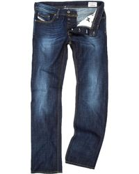 Diesel Larkee 74w Regular Straight Fit Jeans - Lyst
