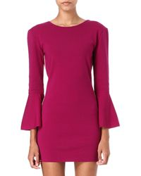 Emilio Pucci Knitted Tulip Dress - Lyst