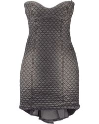Frankie Morello Short Dress - Lyst