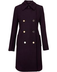 Kenneth Cole - Coat Double Breasted - Lyst