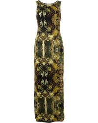 Label Lab Digital Print Split Maxi Dress - Lyst