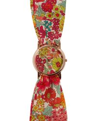 Liberty - Large Margaret Annie Print Knot Watch - Lyst
