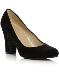 Linea Almeria Plain Court Shoes - Lyst