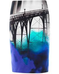 Mary Katrantzou San Francisco print Skirt - Lyst