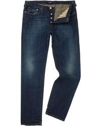 Paul Smith Classic Fit Vintage Wash Jeans - Lyst