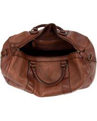 Polo Ralph Lauren - Leather Gym Bag - Lyst