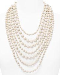 R.j. Graziano - Multi Strand Beaded Necklace 32 - Lyst
