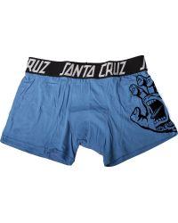 Santa Cruz - Screaming Hand Boxer Mens - Lyst