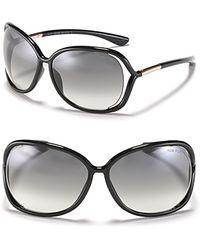 Tom Ford - Raquel Oversized Sunglasses - Lyst