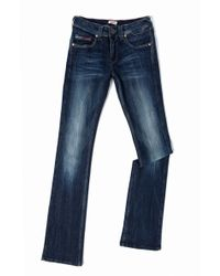 Tommy Hilfiger Sophie Bootcut Stretch Jean - Lyst