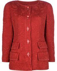 Valentino Vintage Floral Jacket - Lyst