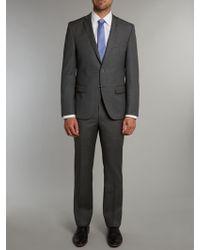 Without Prejudice Slim Fit Birdseye Suit - Lyst