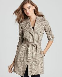 Bailey 44 - Trench Coat Leopard Print - Lyst