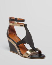 Boutique 9 - Open Toe Wedge Sandals Petruchio - Lyst