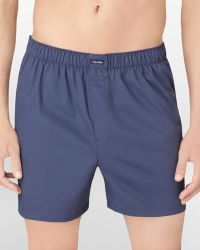 Calvin Klein Woven Solid Boxer Shorts - Lyst