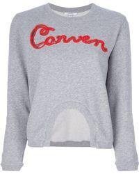 Carven | Branded Sweatshirt | Lyst
