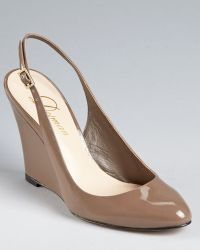 Delman - Court Shoes - Fargo Slingback Wedge - Lyst