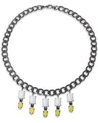 Kurt Geiger | Danielle Chain Necklace | Lyst