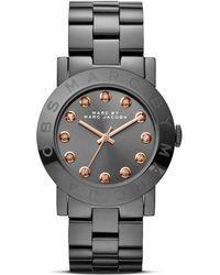 Marc By Marc Jacobs Amy Glitz Watch  - Metallic