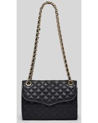 Rebecca Minkoff Shoulder Bag - Quilted Mini Affair - Lyst
