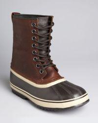 Sorel 1964 Premium Waterproof Leather Boots brown - Lyst