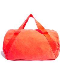 American Apparel - Denim Duffle Gym Bag - Lyst