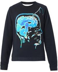 Christopher Kane Brainprint Sweatshirt - Lyst