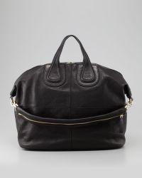 Givenchy Nightingale Zanzi Large Satchel Bag Black - Lyst