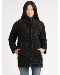 IRO Lanila Oversized Tweed Coat - Lyst