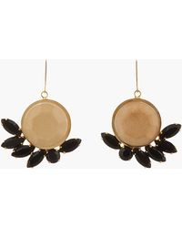 Marni - Nude Paperboard Faceted Earrings - Lyst