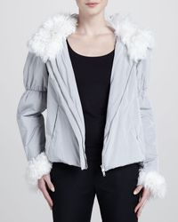 Donna Karan New York Insulated Jacket - Lyst