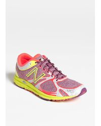 New Balance Purple Running Shoe - Lyst