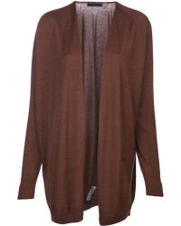 The Row Long Open Front Cardigan - Lyst