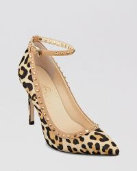 Ivanka Trump Pointed Toe Pumps Galyns Leopard High Heel - Lyst