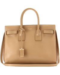 Saint Laurent - Sac De Jour Small Leather Tote - Lyst